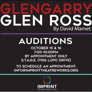 GGGR Audition Poster